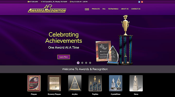 Awards & Recognition Gets a Brand New Website